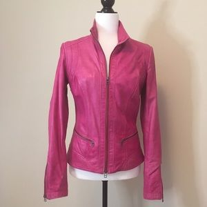 Danier leather jacket. Size 2XS